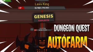 Dungeon Quest Автофарм